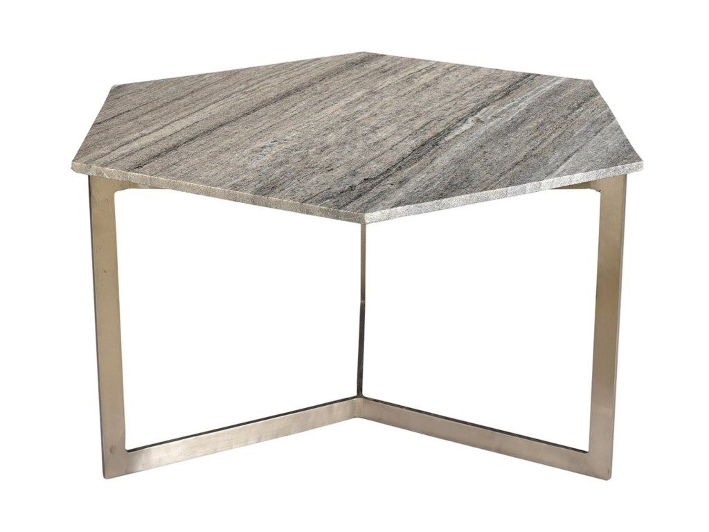 Dovetail Furniture LivingVargo Hex Coffee Table