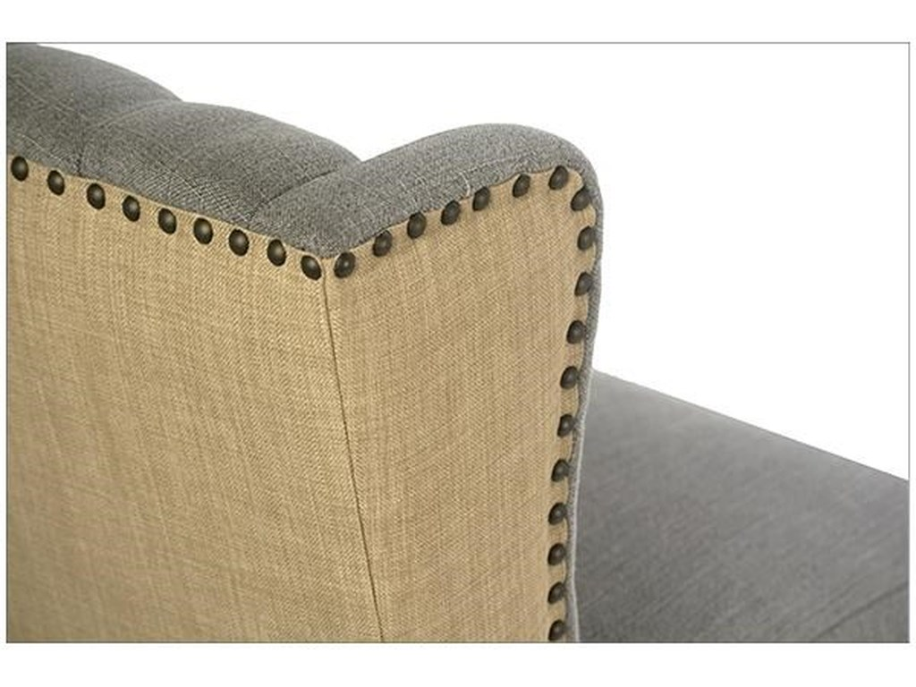 Dovetail Furniture DOVETAILReilly Upholstered Side Chair