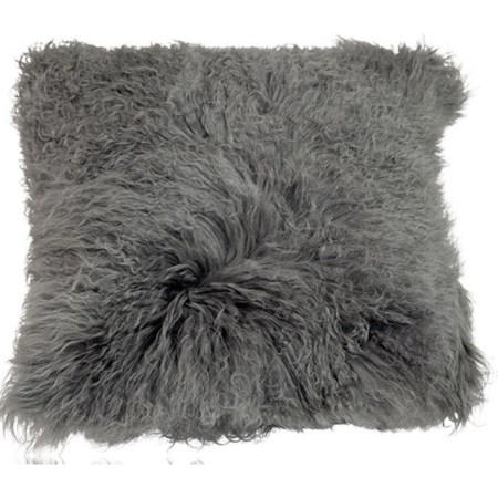 Fur Pillow Grey