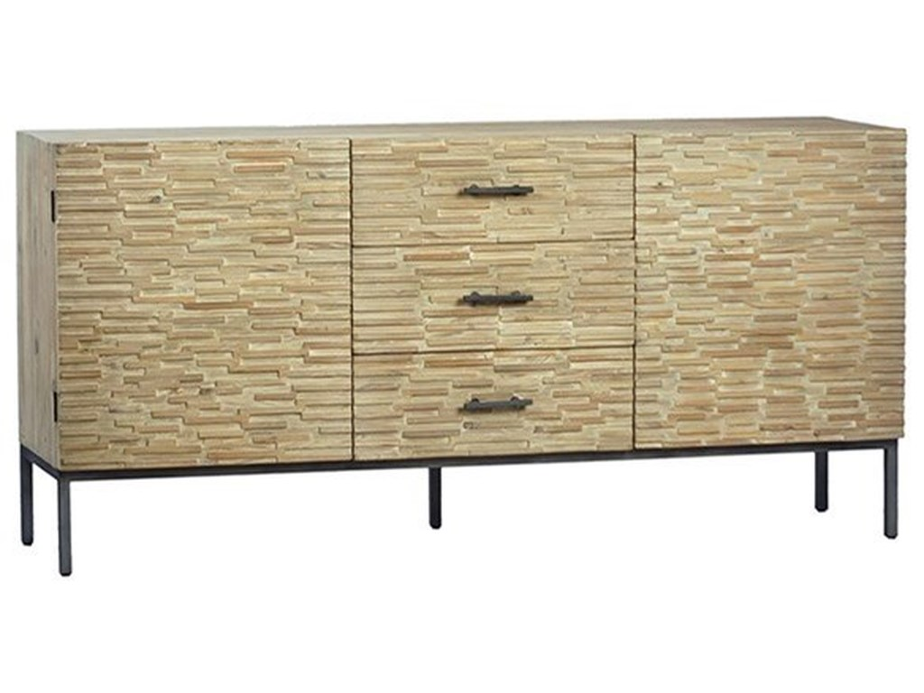 Dovetail Furniture Sideboards Buffets Harstad Sideboard With 3