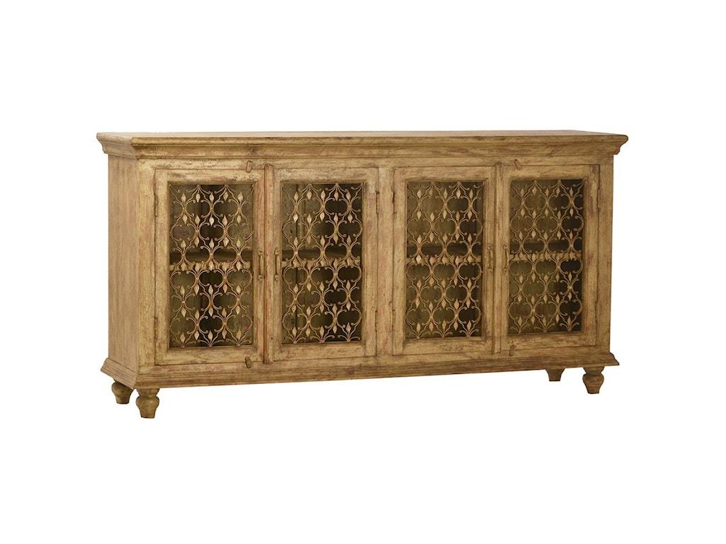 Dovetail furniture sideboards buffets santa fe sideboard