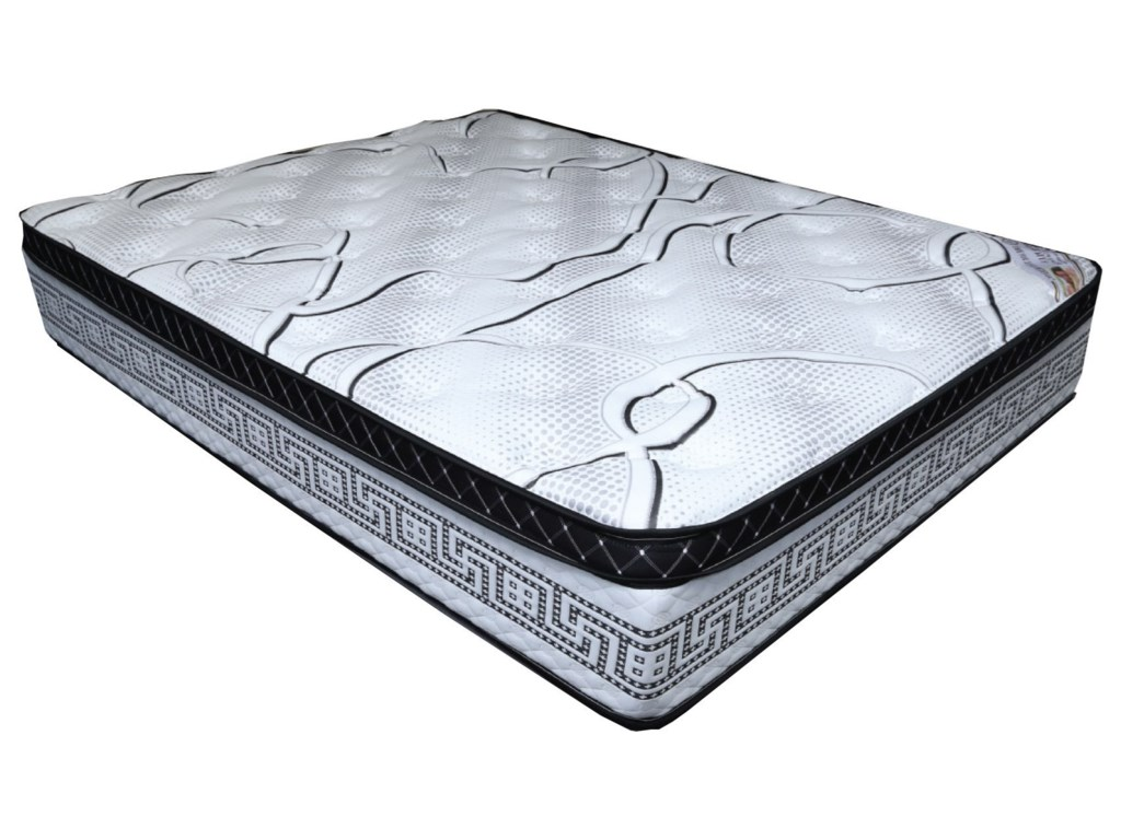 Dream Time Bedding Dream PlushQueen Pocketed Coil Mattress