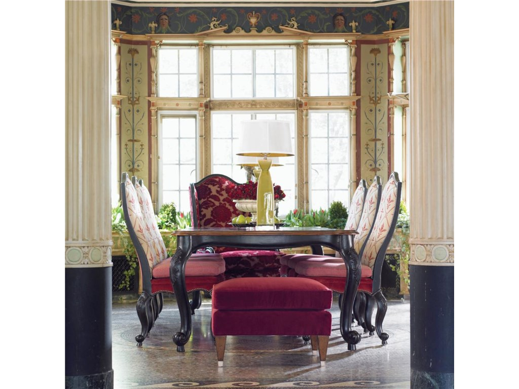 Shown in Dining Room with Table for Royals