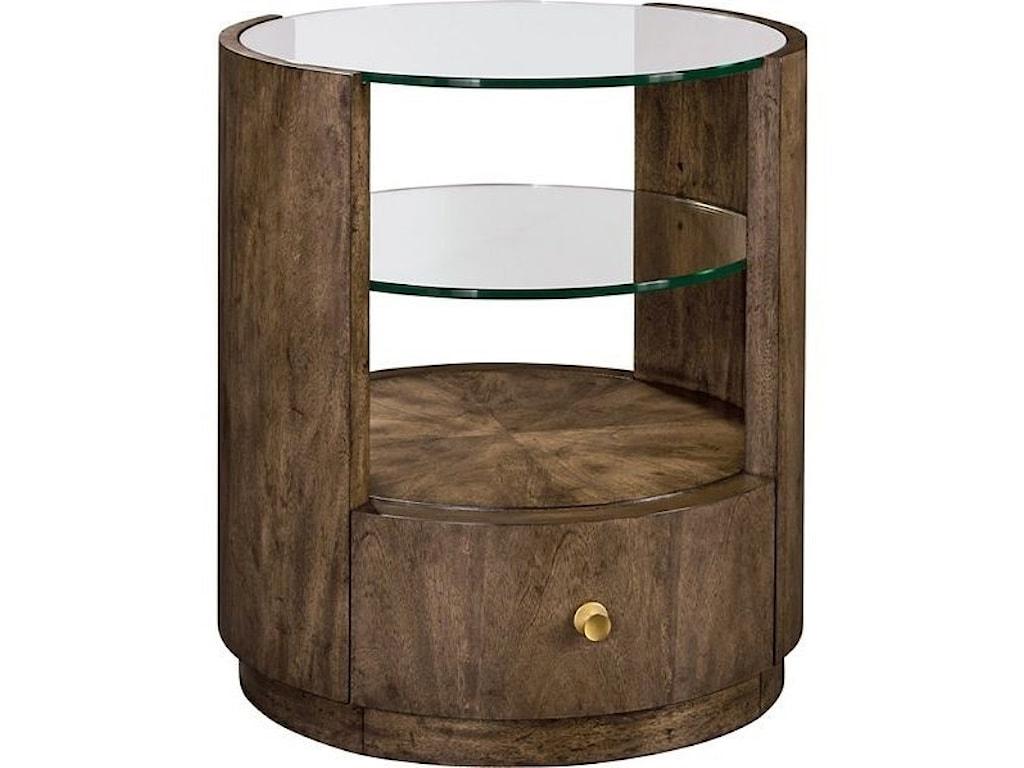 Drexel BellevilleNewman Drum Table