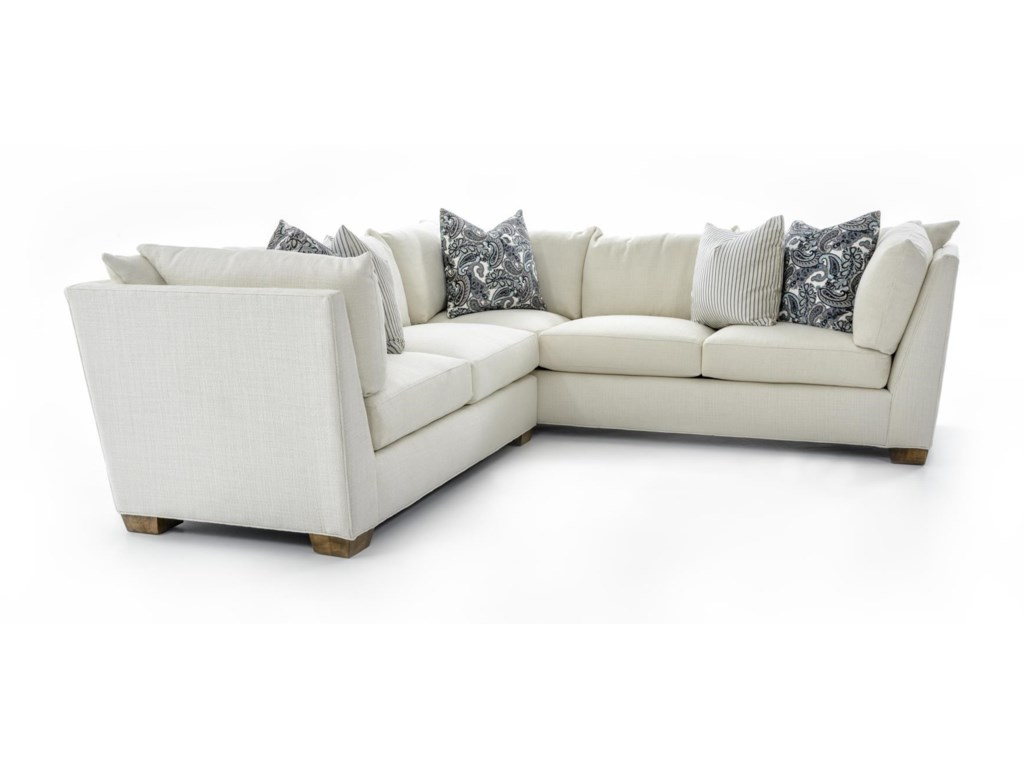 Drexel Burton2 Pc Corner Sectional Sofa