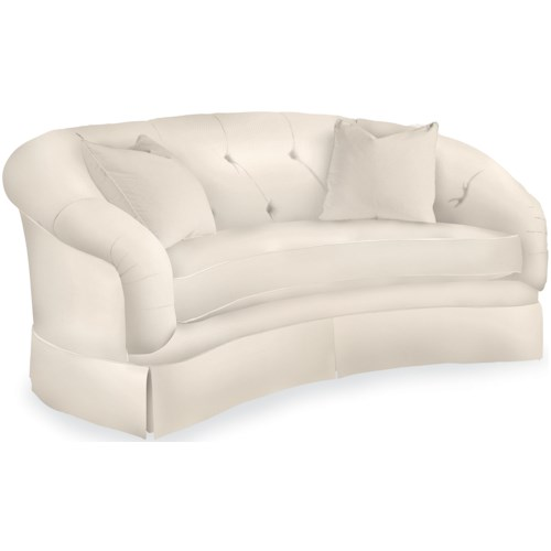 Drexel Heritage Upholstery Ruthanne Sofa W Tufted Back