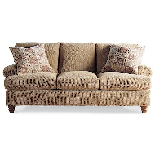 Drexel Heritage Upholstery Mcdermott Stationary Sofa