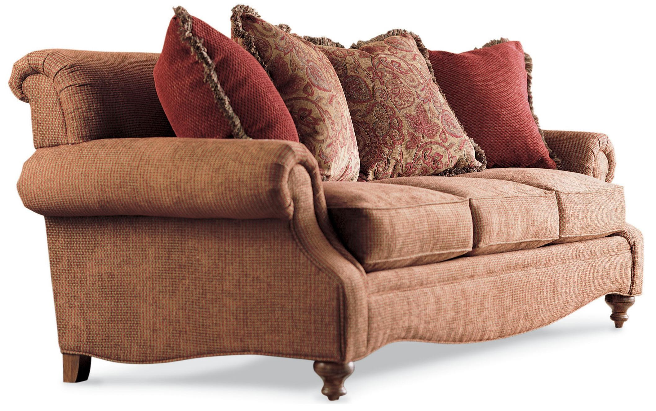 Drexel Drexel Heritage Upholstery Kerry Sofa W/ Rolled Back