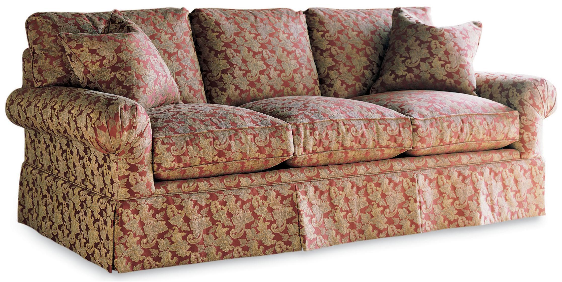 Drexel Drexel Heritage Upholstery Natalie Sofa W/ Skirt