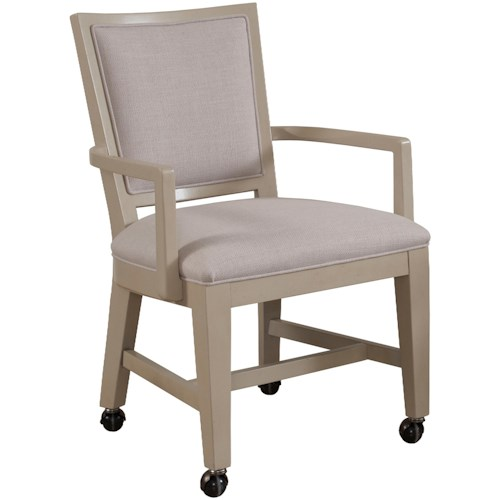 Drexel Gourmet Dining Creston Party Chair w/ Casters