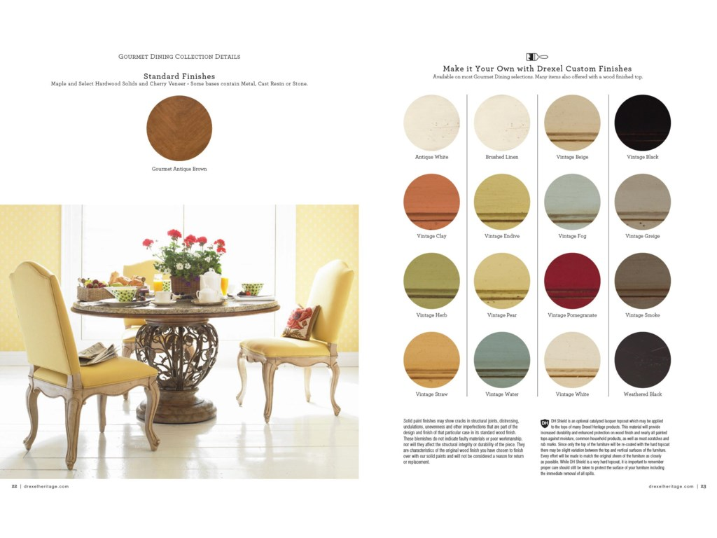 Choose From a Number of Custom Finishes