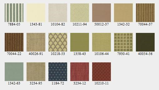 Upholstered Chairs Come with a Number of Fabric Options. Or if You Prefer, Use Your Own Fabric with the Customer's Own Material.