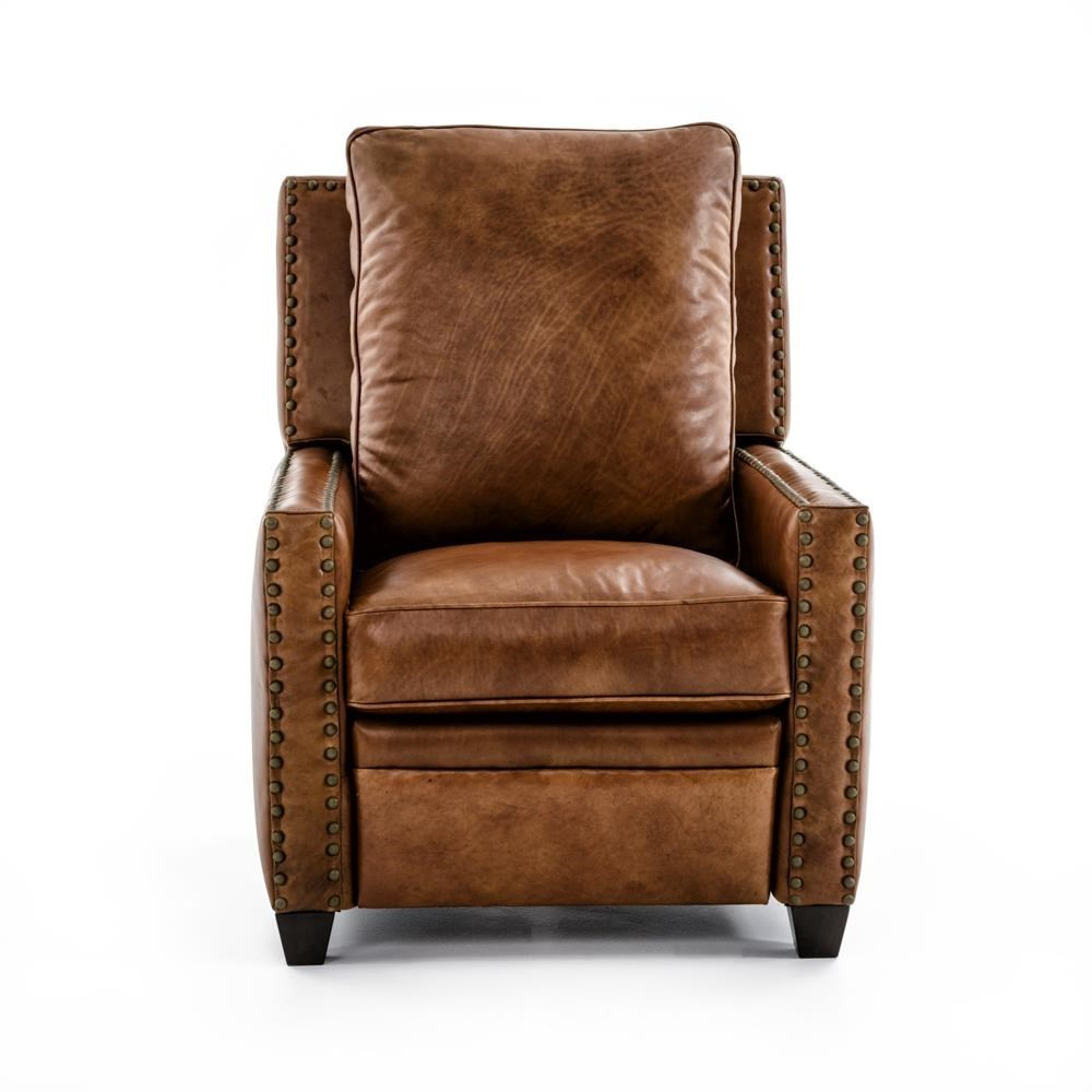 Drexel Leather Pairings - Darden 114799426 Transitional Power High Leg Recliner with Nailheads  sc 1 st  Baeru0027s Furniture & Drexel Leather Pairings - Darden Transitional Power High Leg ... islam-shia.org