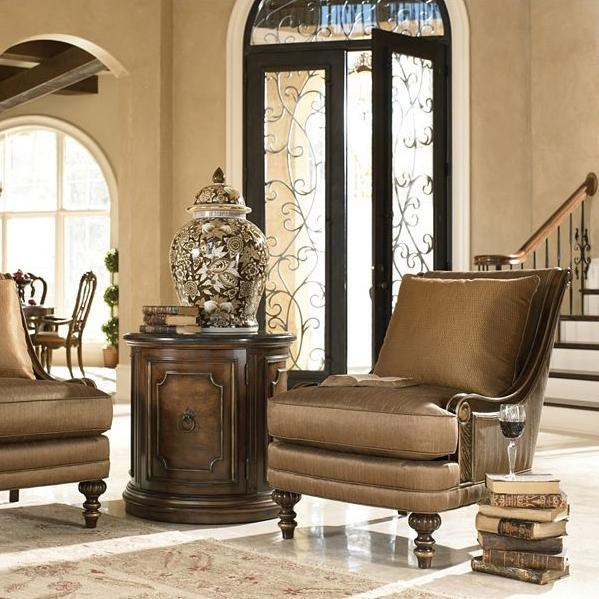 Drexel Upholstered AccentsBasilia Chair