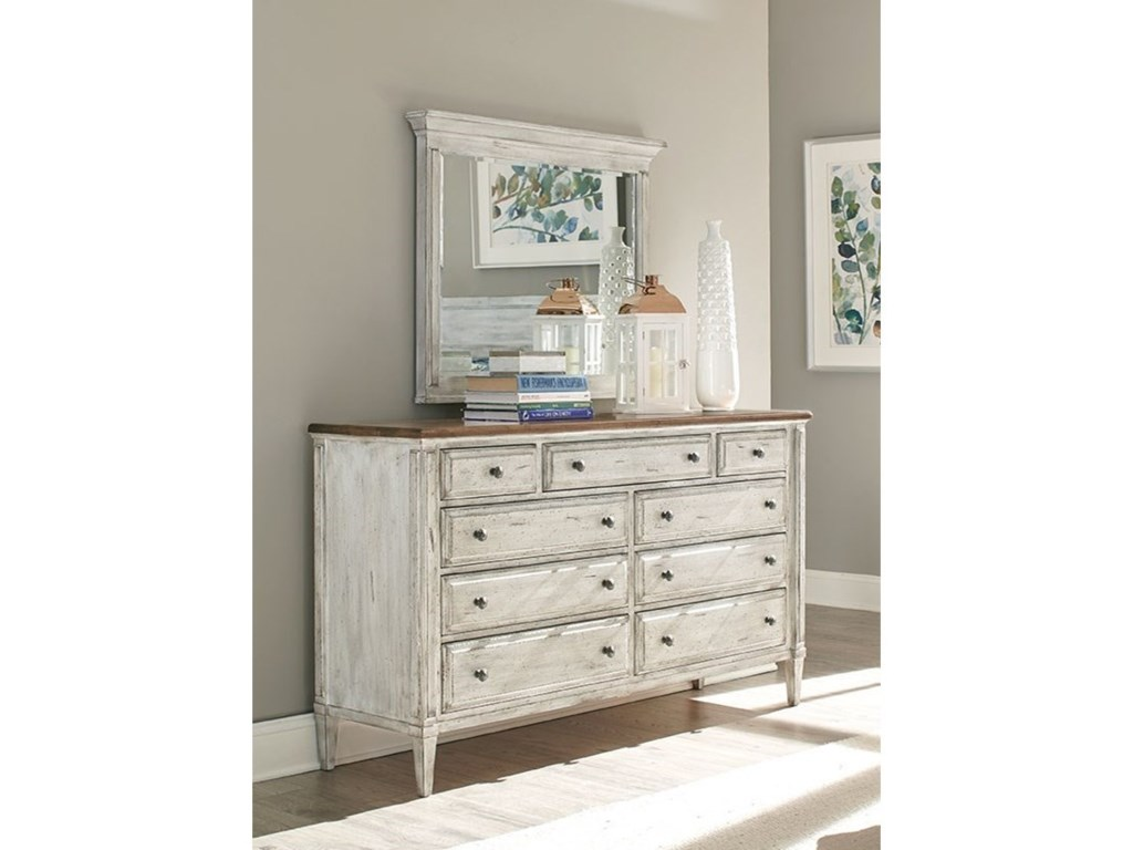 Durham  EscarpmentDresser and Mirror Set