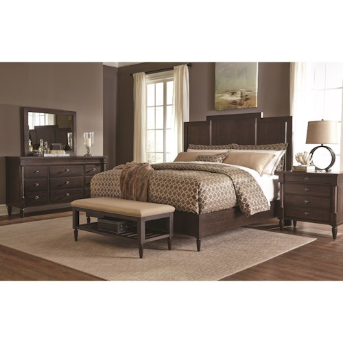 Durham Blairhampton King Bedroom Group