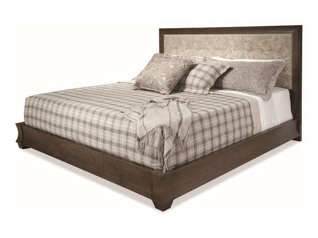 Durham CascataQueen Upholstered Bed