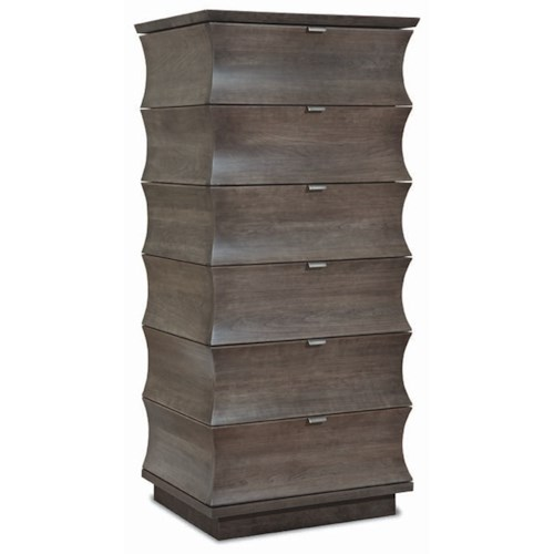Durham Cascata Lingerie Chest with 6 Drawers