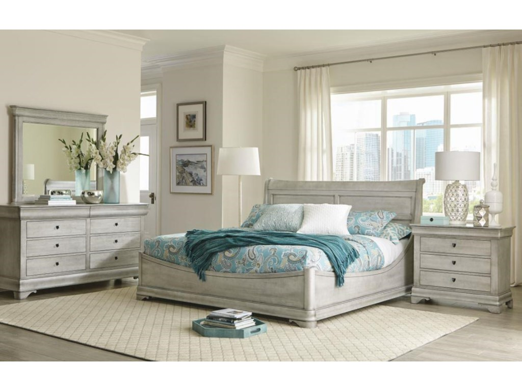Durham Chateau FontaineQueen Euro Bed