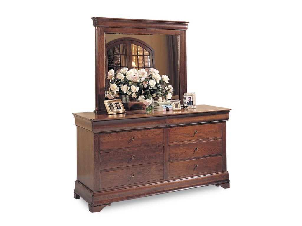 Durham Chateau FontaineDouble Dresser