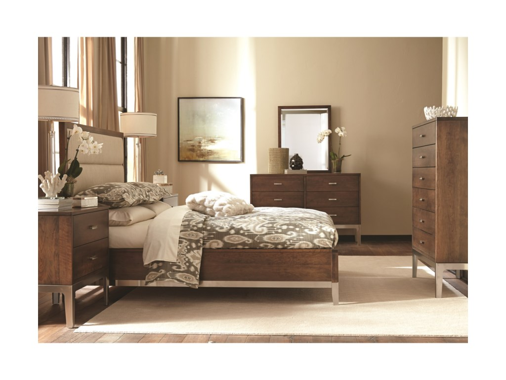 Durham Defined DistinctionQueen Upholstered Bed