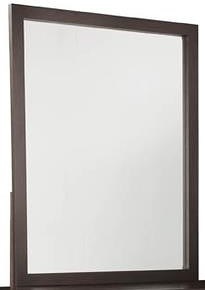 Durham Defined Distinction Vertical Mirror with Solid Wood Frame