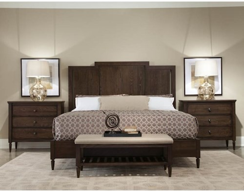 Durham Dunns Valley King Bedroom Group