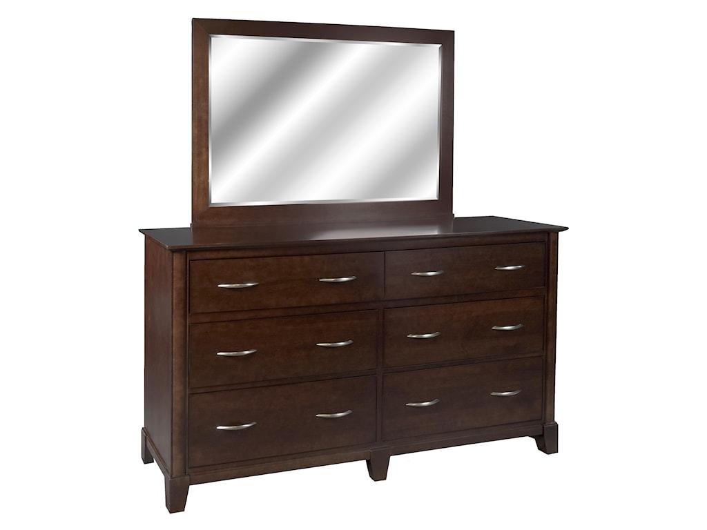 Durham Evolution Double Dresser and Landscape Mirror