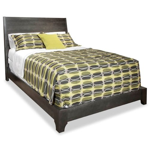 Durham Front Street Queen Panel Bed