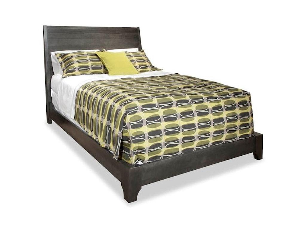 Durham Front StreetQueen Panel Bed