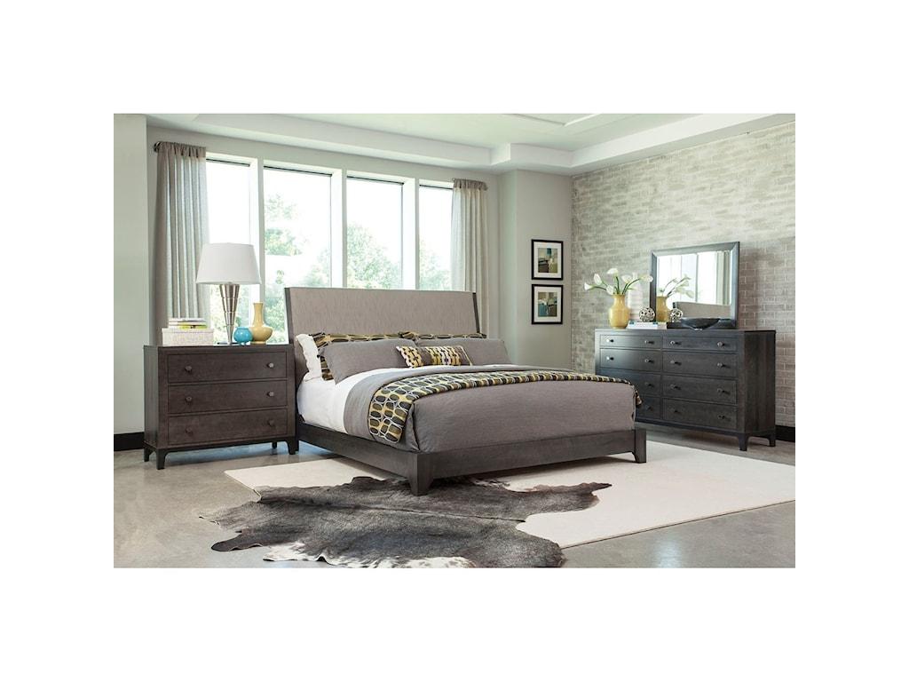 Durham Front StreetQueen Upholstered Bed