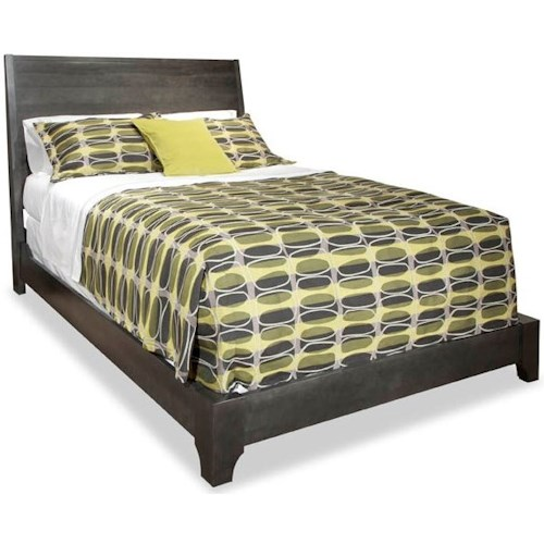 Durham Front Street King Panel Bed