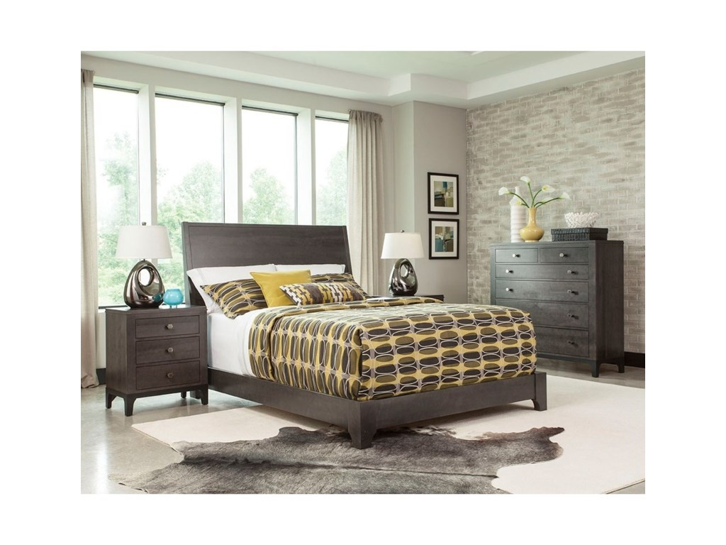 Durham Front StreetKing Panel Bed