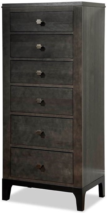 Durham Front Street Lingerie Chest with 6 Drawers
