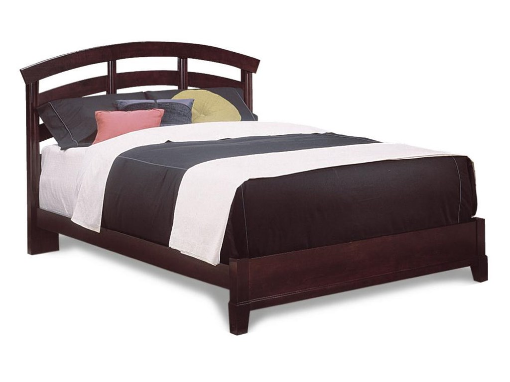 Durham manhattan queen slat bed