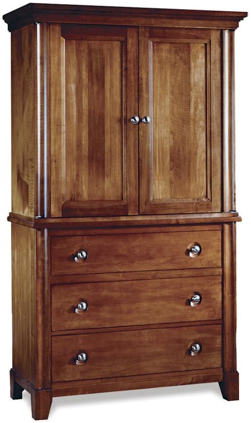 Durham Manhattan  Junior Chest/Door Deck Armoire