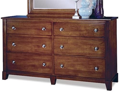 Durham Manhattan  6-Drawer Double Dresser