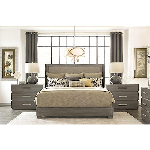 Durham Modern Simplicity Queen Bedroom Group
