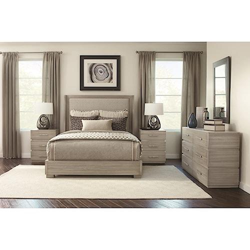 Durham Modern Simplicity King Bedroom Group