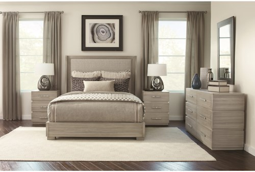 Durham Modern Simplicity King Bedroom Group