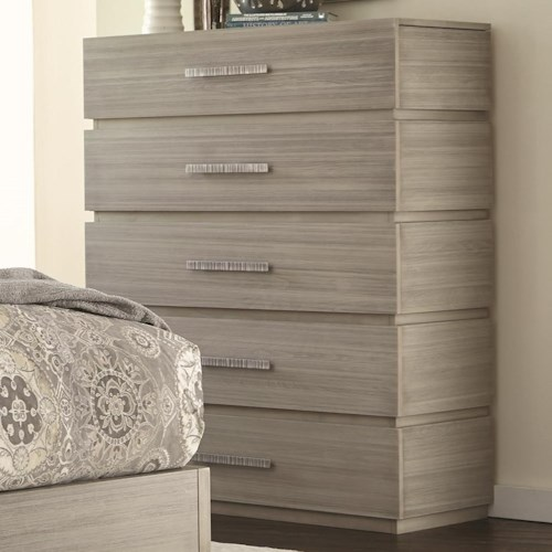 Durham Modern Simplicity 5-Drawer Chest