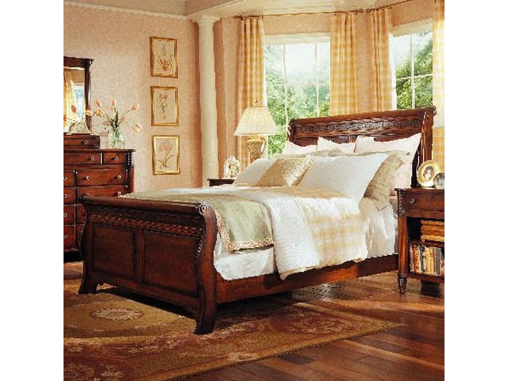 Durham George Washington ArchitectQueen Master Sleigh Bed