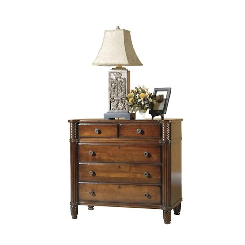 Durham Mount Vernon Bachelor's Chest with Drawers