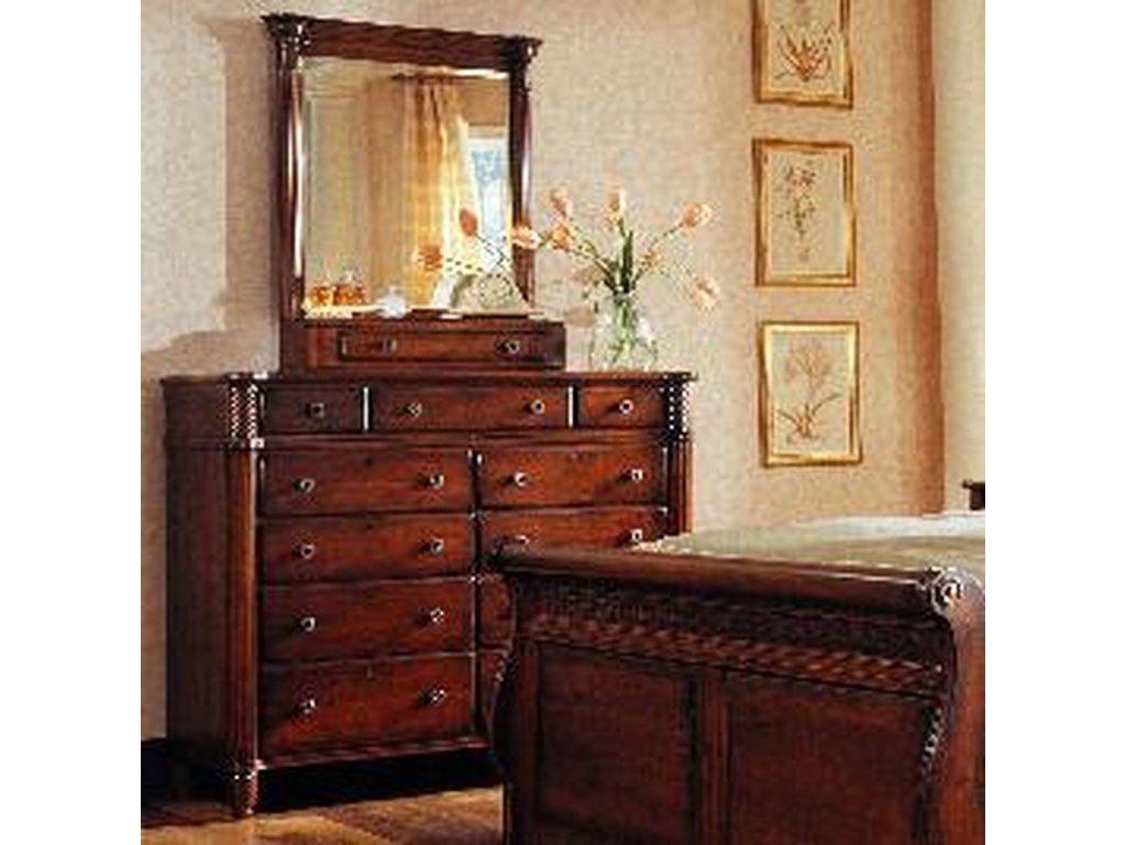 Durham George Washington ArchitectDressing Chest with Vertical Mirror