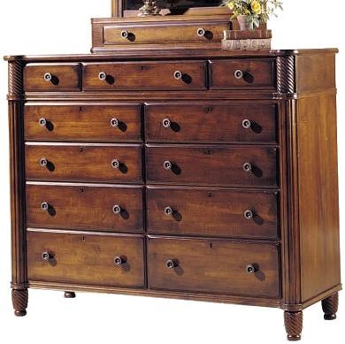 Durham Mount Vernon Dressing Chest with Drawers