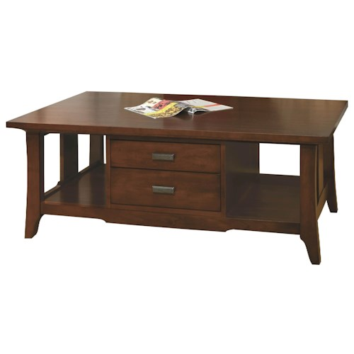 Jordan S Furniture Coffee Table Sets: Durham Occasional Tables Durham Westwood Drawer Cocktail