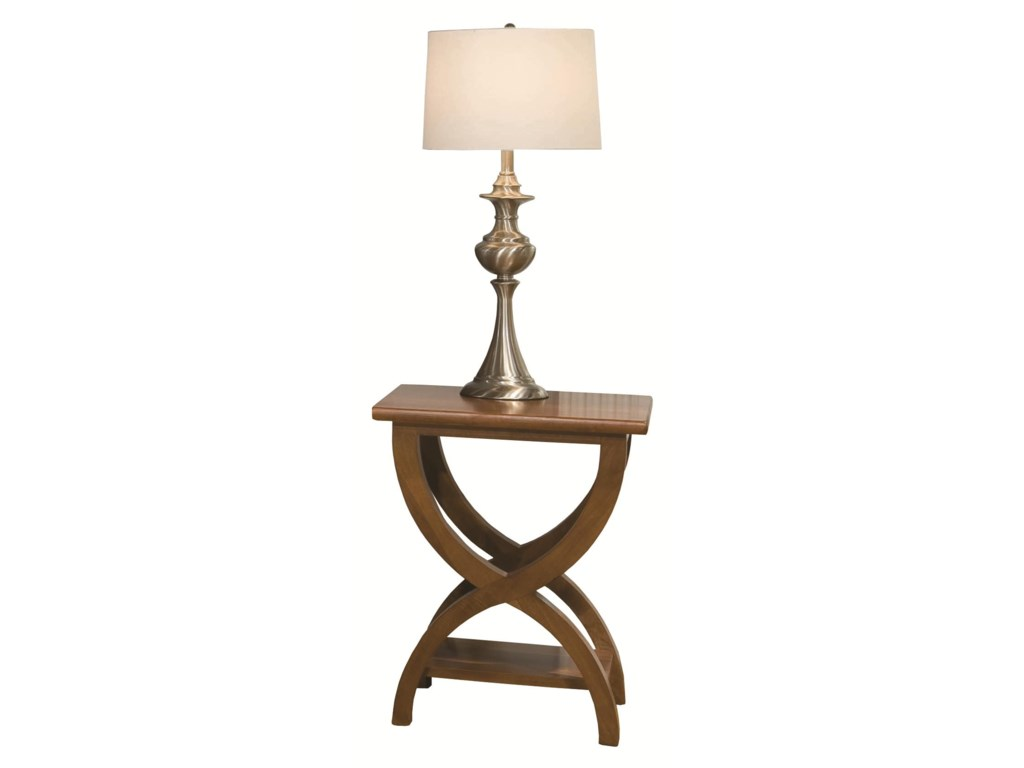 Durham Occasional Tables DurhamTransitional Chairside Table
