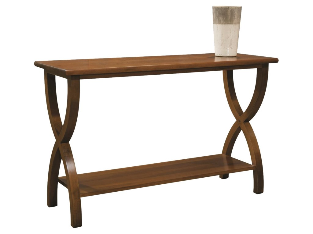 Durham Occasional Tables DurhamTransitional Sofa Back Table
