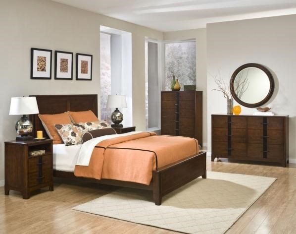 Shown with Coordinating Collection Double Dresser, Two Drawer Nightstand, Panel Bed and Drawer Chest