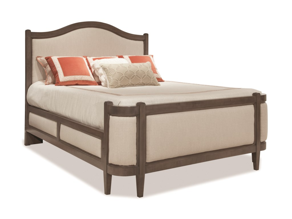 Durham ProminenceQueen Grand Upholstered Bed